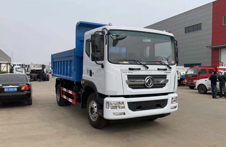 D9 DongFeng  dump garbage truck