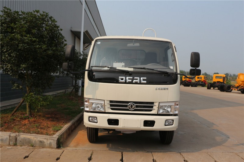 Dongfeng DLK small swing arm type garbage truck