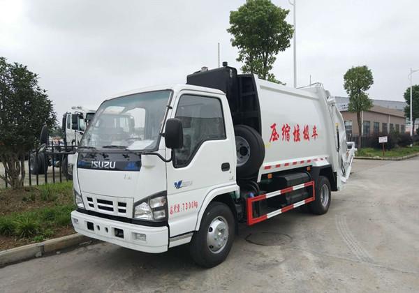 Isuzu5方 compressed garbage truck