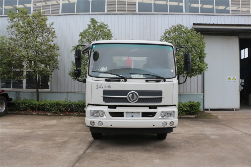 Dongfeng 12 cbm hook arm garbage truck