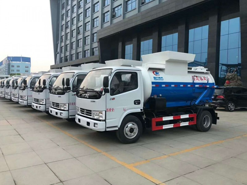 Dongfeng DLK D6 food waste tank truck