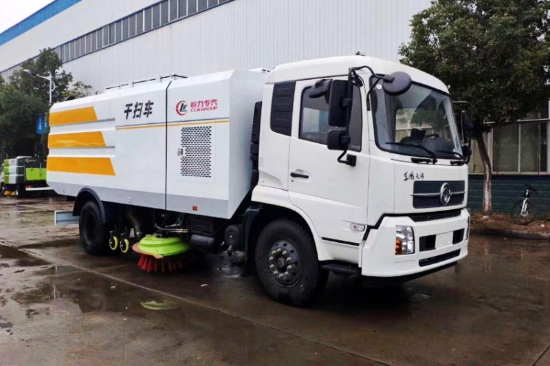 Dongfeng tianjin wet and dry road sweeper
