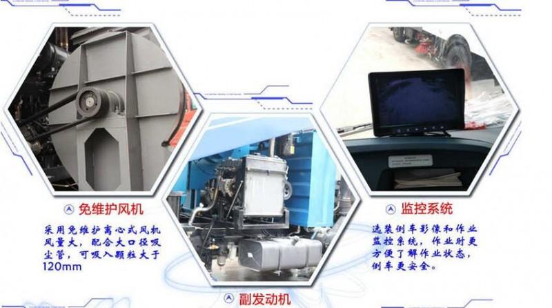 福田3方扫路车上装细节展示图1