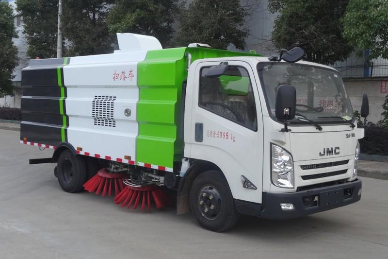 JMC Kaiyun 8 cbm road sweeper