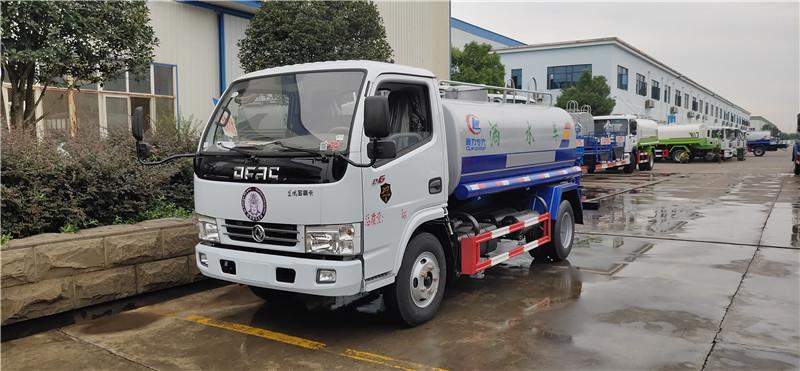 5 tonnes de camion de désinfection du châssis Dongfeng DLK