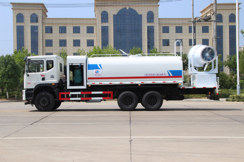 Dongfeng 6×4 3 axles dust suppression truck
