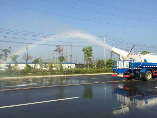 Dongfeng Single bridge 55 meters spraying vehicles