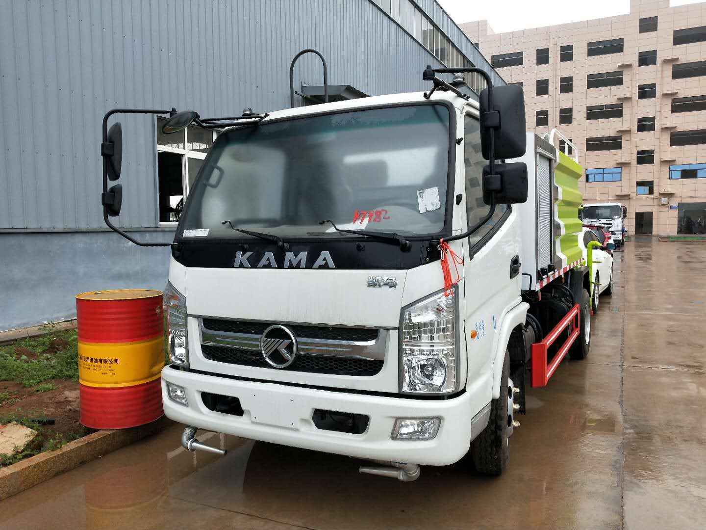 Kaima 4 tons of small classical fog anti dust truck