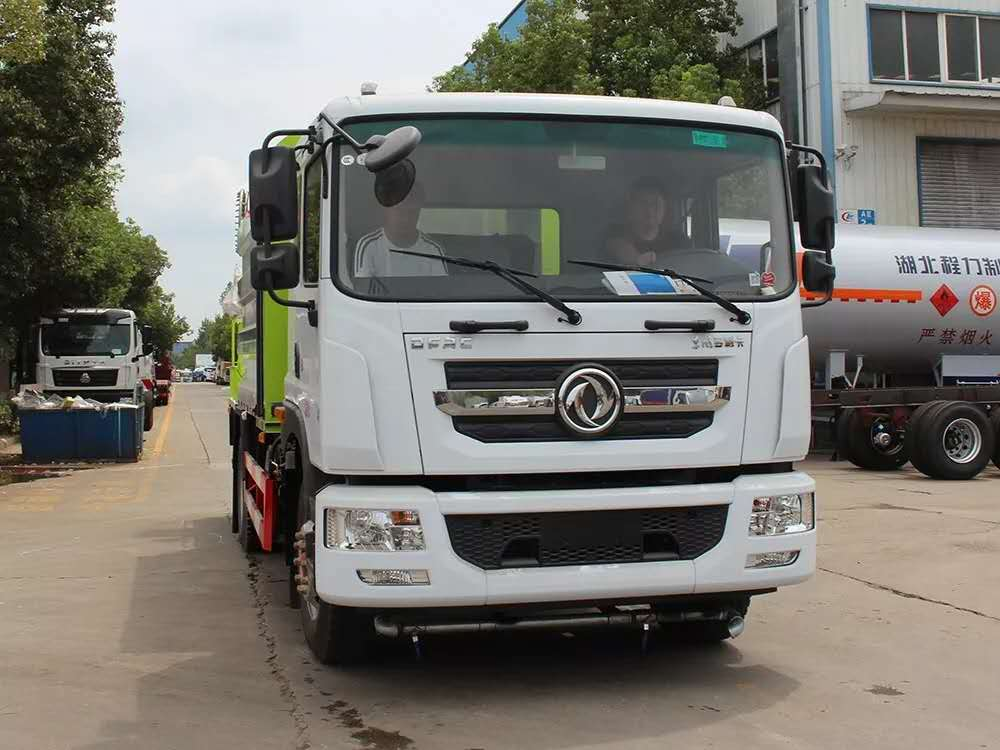 Dongfeng D9 Euro six multi-functional dust suppression truck