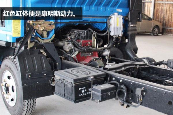 解放虎V5.6米清障车 发动机