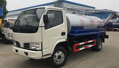 Dongfeng DLK 5 CBM caminhão de sucção fecal