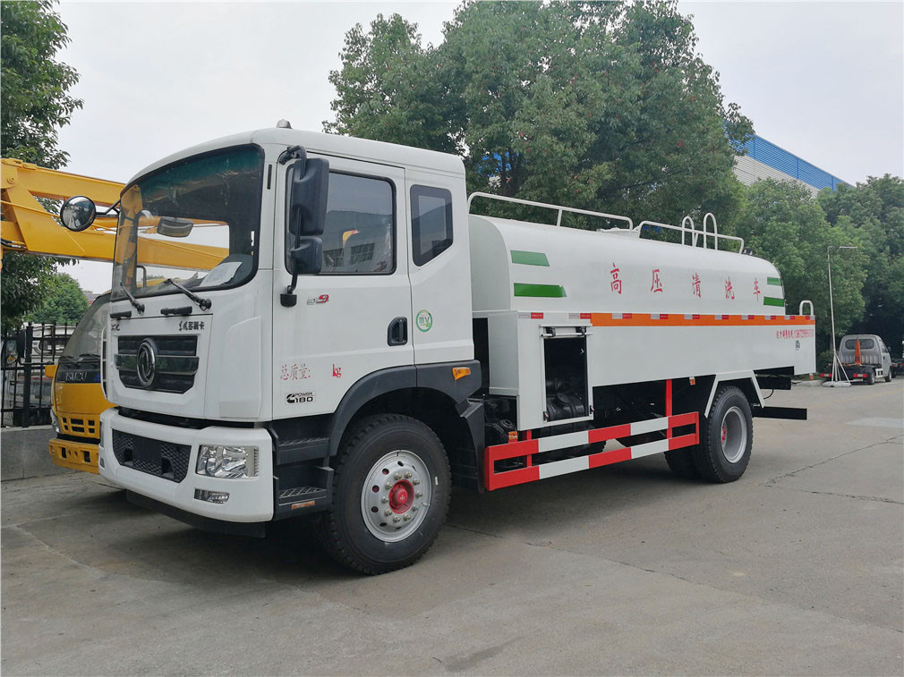 Dongfeng D9 high pressure cleaning truck