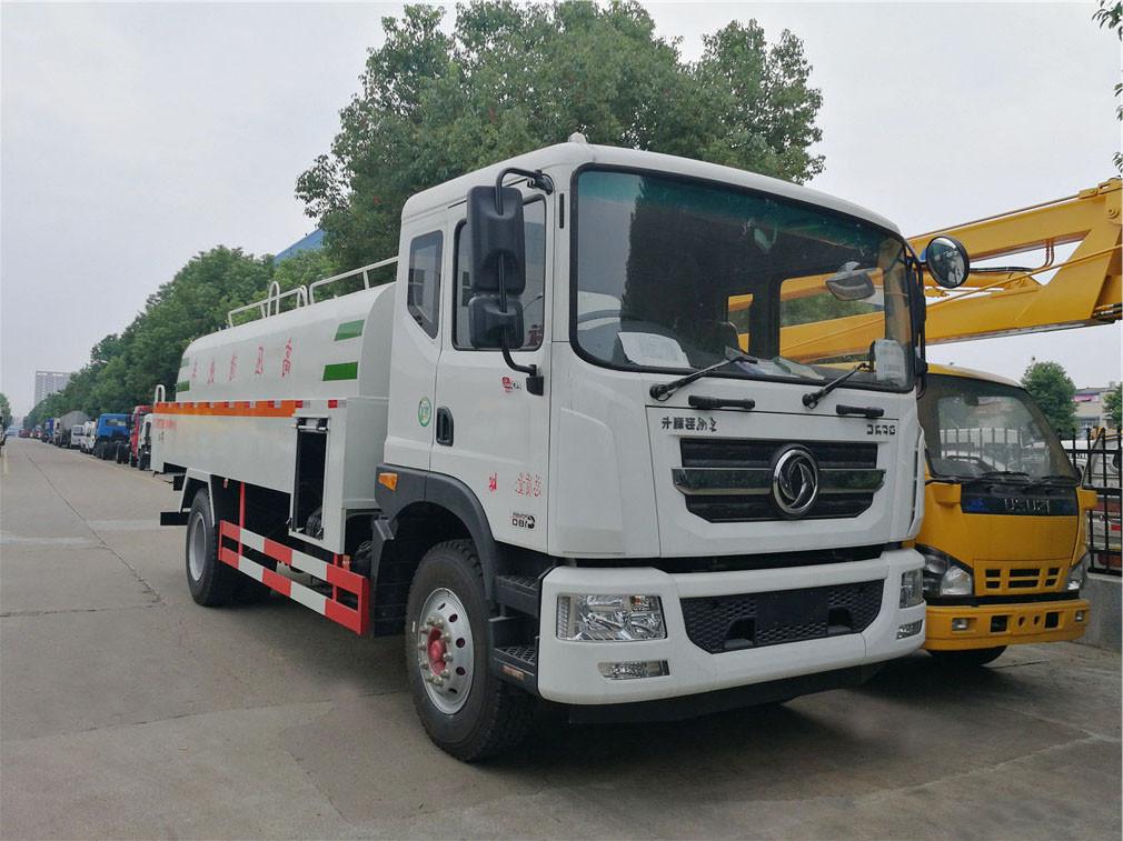 Dongfeng alta pressão veículo de limpeza 1 Duolika