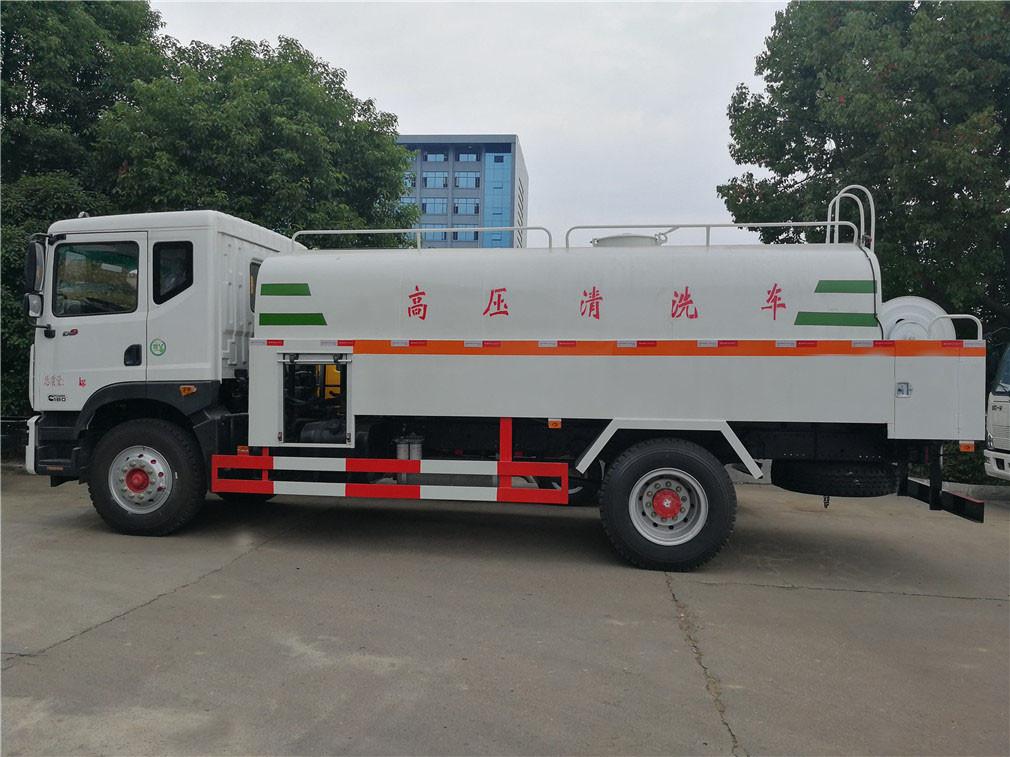 Dongfeng alta pressão veículo de limpeza 3 Duolika