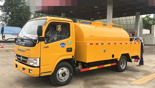 Dongfeng 5cbm high pressure cleaning vehicles