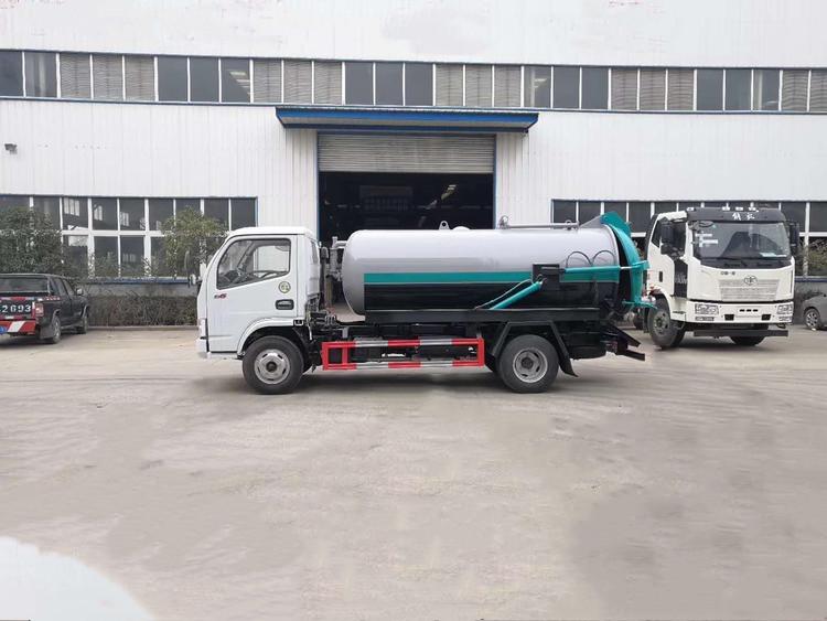 DLK camion d'égout d'aspiration latérale est une 5