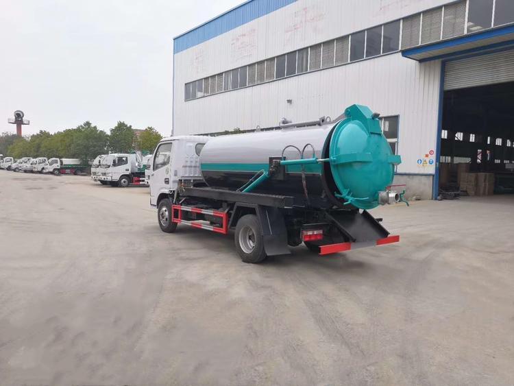 DLK شفط الرياح شاحنة الجانب 5 الصرف الصحي 2