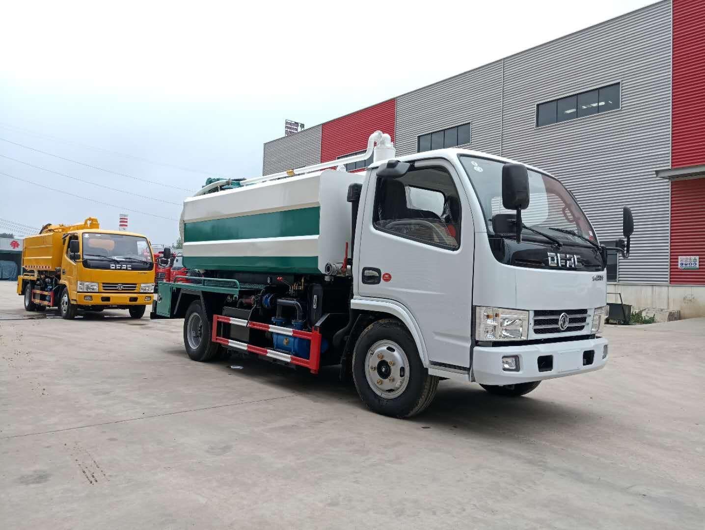 DLK D6 ہوا سکشن صفائی سیوریج ٹرک 2