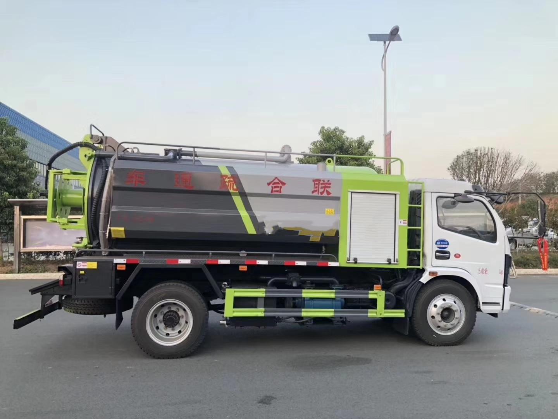 8 Кайпу Те всасывания ветра стороне очистки сточных вод грузовик 6