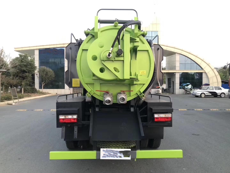 8 Кайпу Те всасывания ветра стороне очистки сточных вод грузовик 8