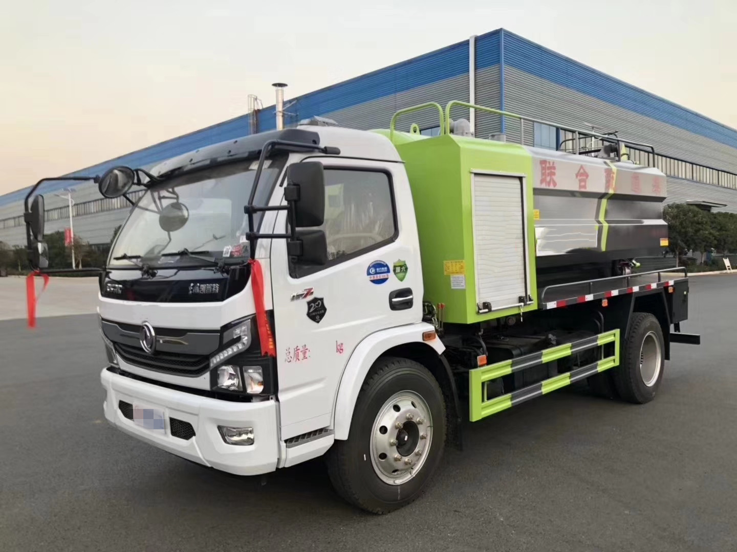 Dongfeng 8cbm KaipuTe sewage suction & cleaning truck