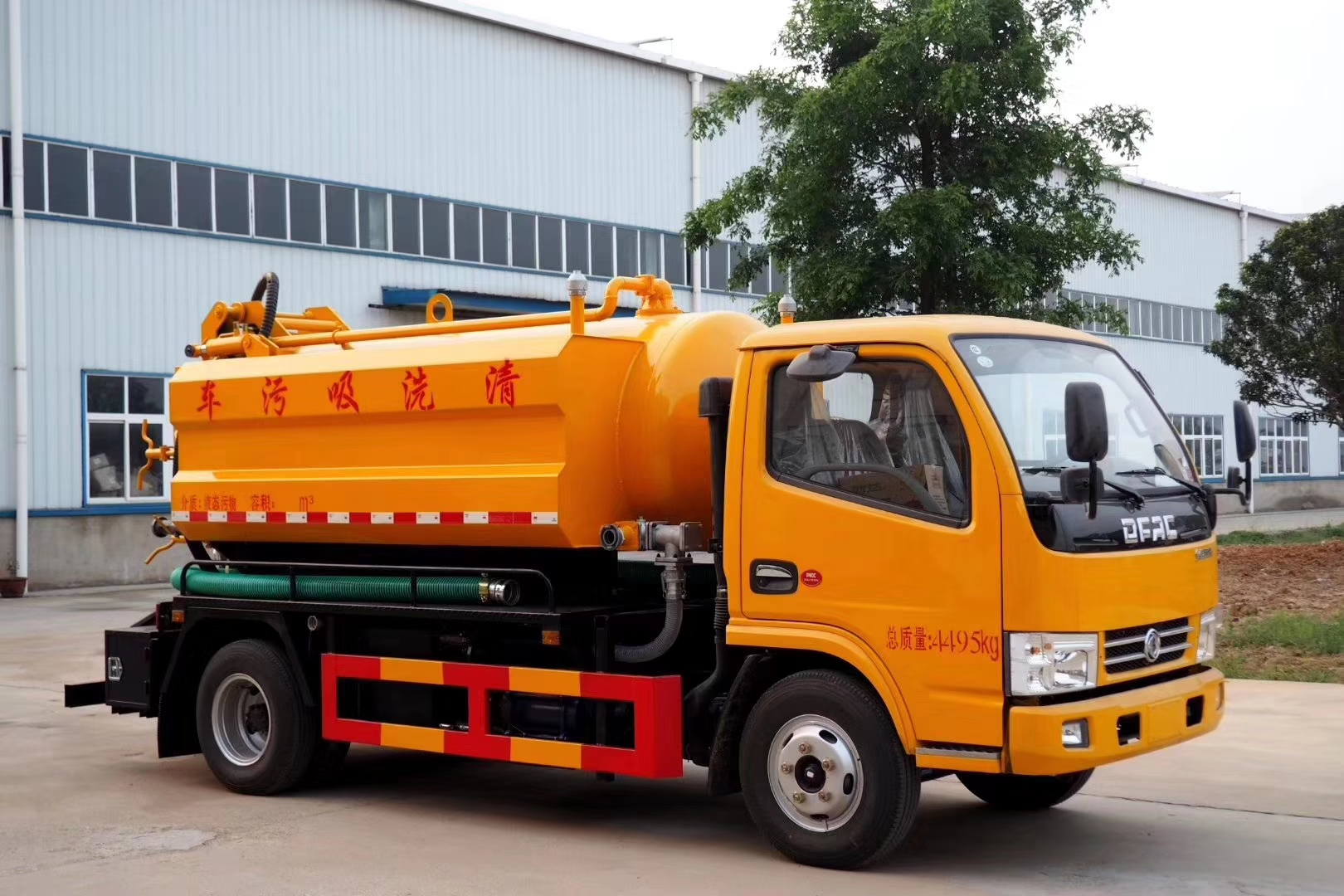 Dongfeng 3000 liters sewage suction & cleaning truck