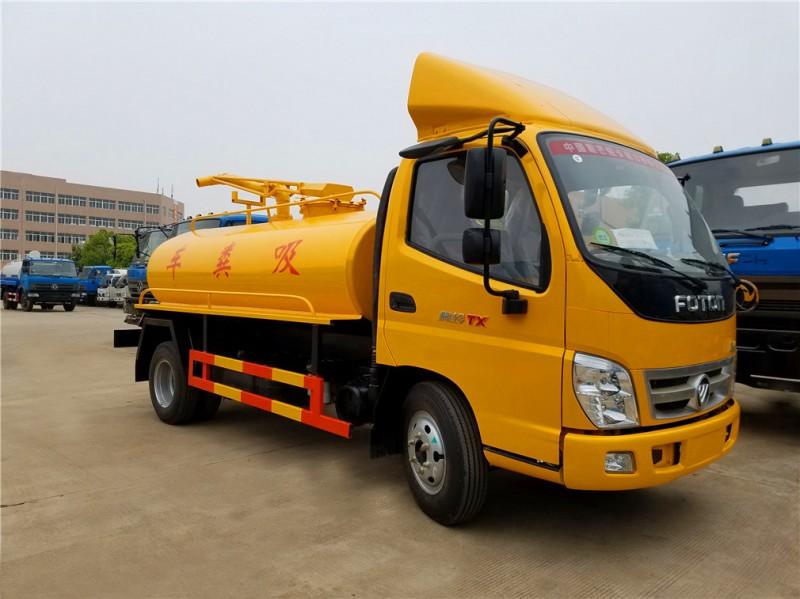 Foton Aoling 5 cbm fecal suction truck