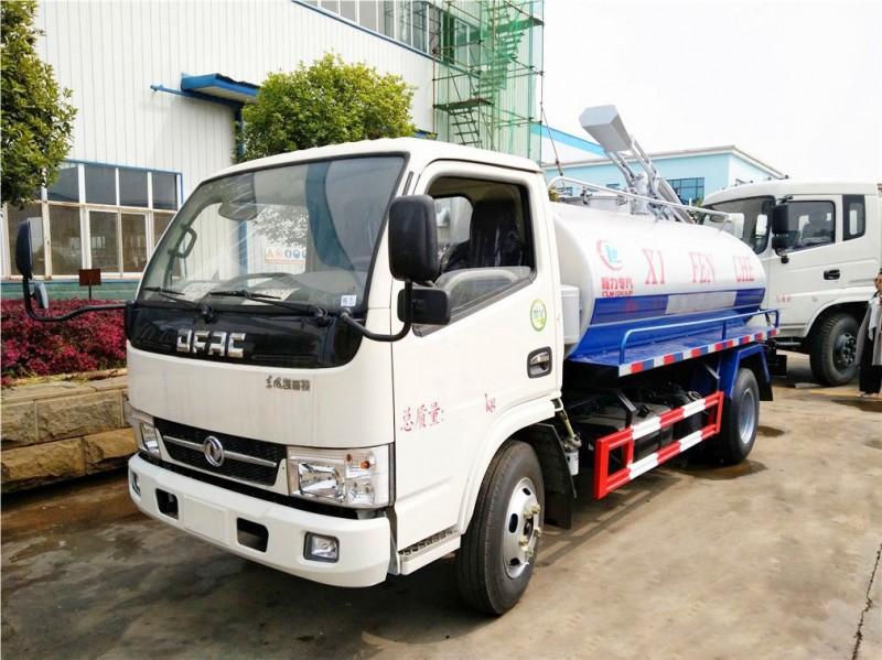 Dongfeng DLK 4 cbm fecal suction truck