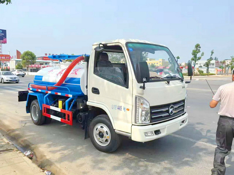 Kaima 5 cbm fecal suction truck