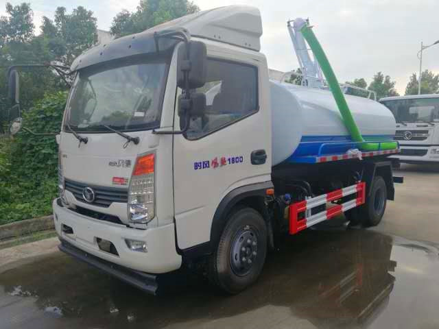 Shifeng suction truck 5 tons tank