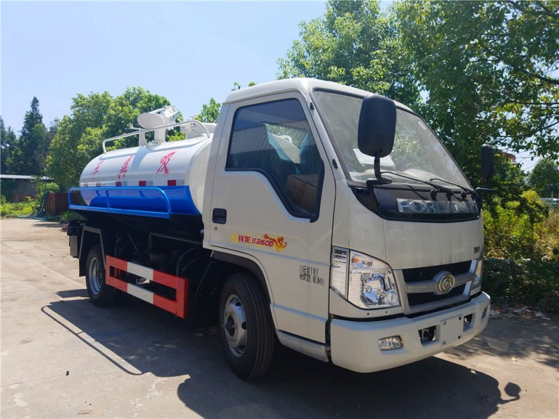 Foton 3 cbm forland fecal suction truck